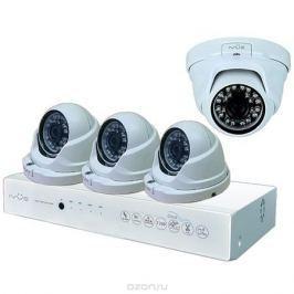 iVue D5004 AHC-D4 Для Дома и Офиса 4+4 комплект видеонаблюдения