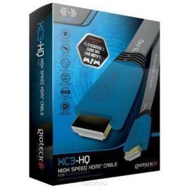 Gioteck XC3-HQ кабель HDMI высокоскоростной плоский, Blue 1.8 м