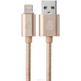 uBear DC01GD01-I5, Gold кабель кабель USB-Lightning (1 м)