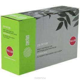 Cactus CS-TK1120BK, Black тонер-картридж для Kyocera Mita FS 1025MFP/1060/1060DN/1125/1125MFP