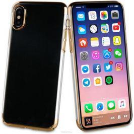 Muvit Crystal Case чехол для Apple iPhone X, Gold