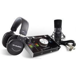M-Audio M-Track 2X2 Vocal Studio Pro, Black аудиоинтерфейс