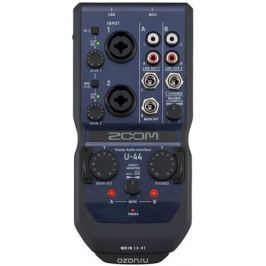 Zoom U-44, Blue аудиоинтерфейс ручной