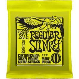 Ernie Ball Regular Slinky Nickel Wound струны для электрической гитары (10-46)