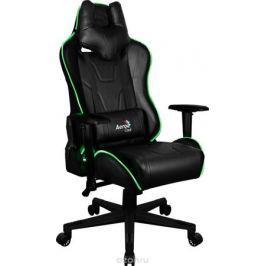 Aerocool AC220 RGB-B, Black игровое кресло