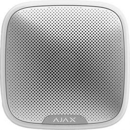 Ajax StreetSiren, White беспроводная звуковая уличная сирена