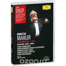 Mahler, Leonard Bernstein: Symphonies Nos. 1, 2 & 3 (2 DVD)