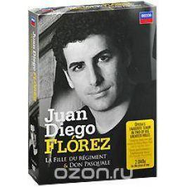 Juan Diego Florez: Donizetti - La Fille Du Regiment / Don Pasquale (3 DVD) Театральные постановки