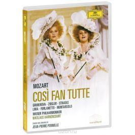 Mozart, Nikolaus Harnoncourt: Cosi Fan Tutte (2 DVD)