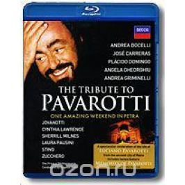 The Tribute To Pavarotti: One Amazing Weekend In Petra (Blu-ray) Концерты