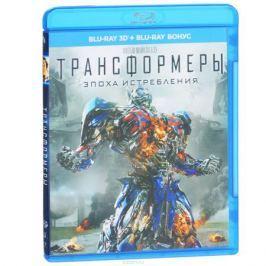Трансформеры: Эпоха истребления 3D (2 Blu-ray)