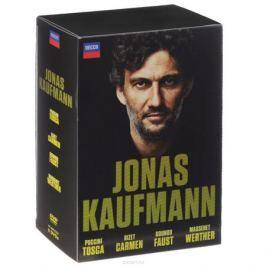 Jonas Kaufmann: Bizet: Carmen / Puccini: Tosca / Gounod: Faust / Massenet: Werther (6 DVD)
