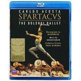 Carlos Acosta: Spartacus. The Bolshoi Ballet (Blu-ray) Постановки балета