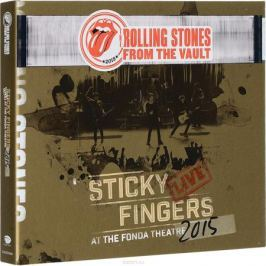 Rolling Stones: The From the Vault: Sticky Fingers Live at the Fonda Theatre 2015 (DVD + CD)