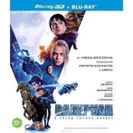 Валериан и город тысячи планет 3D (Blu-ray)