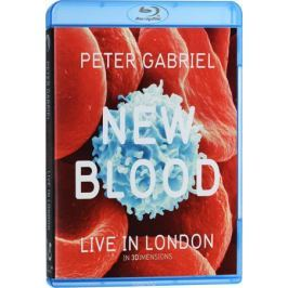 Peter Gabriel: New Blood: Live In London In 3 Dimensions (2 Blu-ray + DVD)