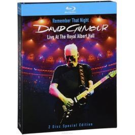 David Gilmour. Remember That Night - Live At The Royal Albert Hall (2 Blu-Ray)