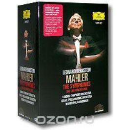 Leonard Bernstein. Mahler. The Symphonies. Das Lied Von Der Erde (9 DVD)