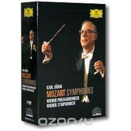 Karl Bohm. Mozart - Symphonies. Wiener Philharmoniker / Wiener Symphoniker (3 DVD)