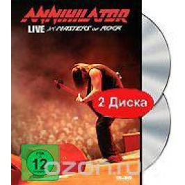 Annihilator: Live At Masters Of Rock (DVD + CD) Концерты