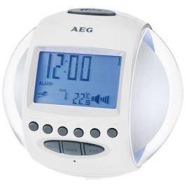 AEG MRC 4117, White радиочасы