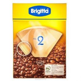 Melitta Brigitta No.2 фильтры бумажные, 100 шт.