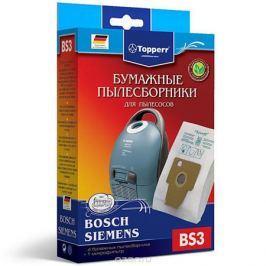Topperr BS 3 фильтр для пылесосов Bosch, Siemens, 4 шт