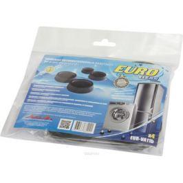 Euro Clean VA-11B, Black антивибрационные подставки для стиральных машин и холодильников, 4 шт