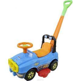 Полесье Автомобиль-каталка Джип с ручкой цвет голубой