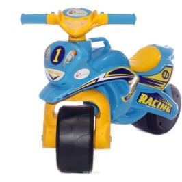 Doloni Байк-каталка Sport, цвет желтый голубой
