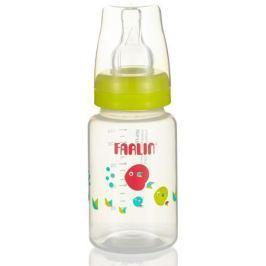 Farlin Бутылочка для кормления со стандартным горлышком, цвет: салатовый 150 мл
