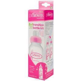 Dr. Brown's Бутылочка Options от 6 месяцев цвет розовый 250 мл
