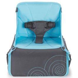 Munchkin Дорожный стульчик для кормления цвет серый голубой