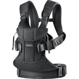 BabyBjorn Рюкзак для переноски ребенка One Mesh цвет черный
