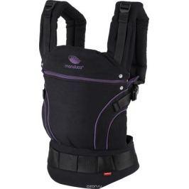 Manduca Рюкзак-переноска BlackLine в комплекте с накладками цвет лиловый