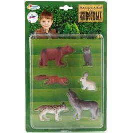 Играем вместе Набор фигурок Животные средней полосы 6 шт