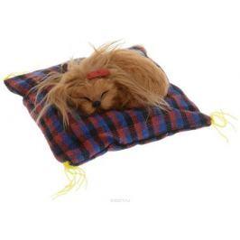 Vebtoy Фигурка Собака Йорк на коврике цвет коричневый