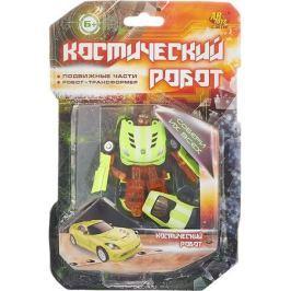 ABtoys Трансформер Космический робот цвет лимонный оранжевый