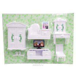 Abtoys Мебель для кукол Счастливые друзья Для гостиной 8 предметов