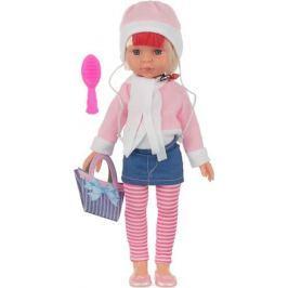 Doll&Me Кукла с аксессуарами цвет наряда розовый джинс 34 х 17 х 9 см 1020