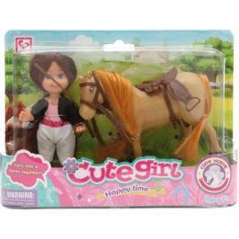 Tongde Кукла с лошадкой