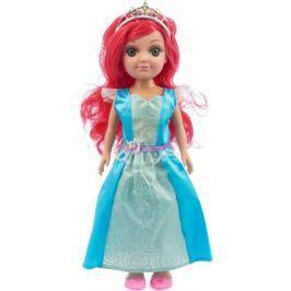 Карапуз Кукла озвученная Принцесса цвет платья голубой бирюзовый
