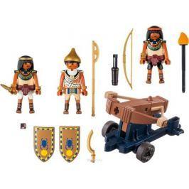 Playmobil Игровой набор Римляне и египтяне Египетский солдат с баллистой