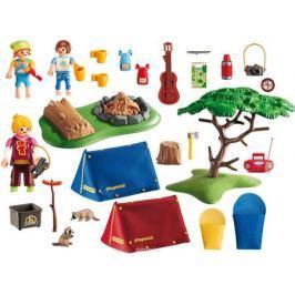 Playmobil Игровой набор Летний лагерь Турбаза со светодиодным костром