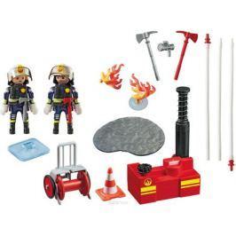 Playmobil Игровой набор Операция по тушению пожара с водяным насосом