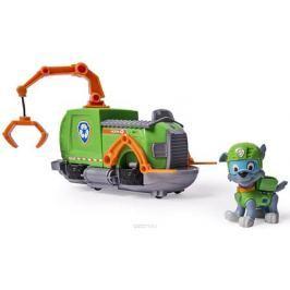 Paw Patrol Игровой набор Машинка спасателя и щенок Rocky