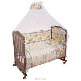 Сонный Гномик Комплект в кроватку Считалочка цвет бежевый 7 предметов