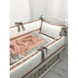 MARELE Комплект детского постельного белья в кроватку Венский вальс 11 предметов