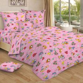 Letto Комплект в кроватку цвет розовый BG-95