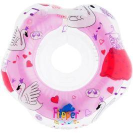 Roxy-kids Круг музыкальный на шею для купания Flipper цвет розовый